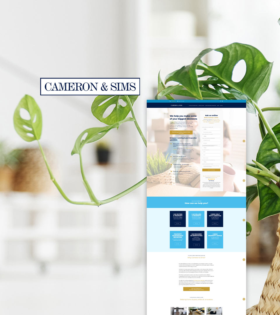 Cameron & Sims Building & Pest Inspections